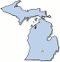 Michigan Lakes by County